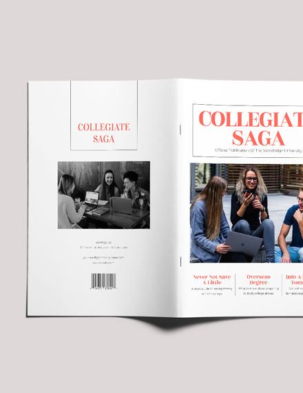 Sample Professional College Magazine