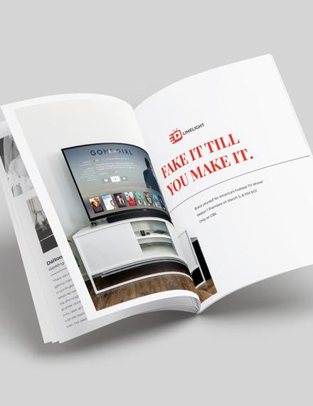 Photographer Layout Magazine Download