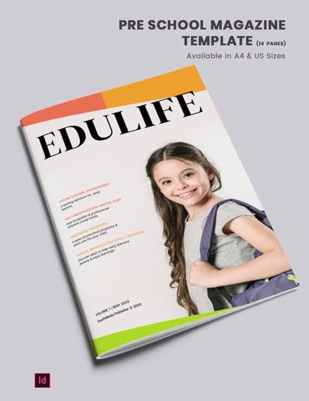 pre school magazine