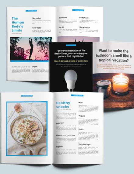 Professional Health Magazine Download