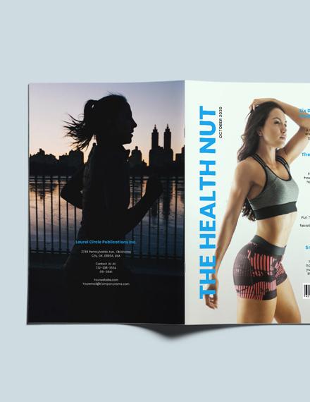 Sample Professional Health Magazine