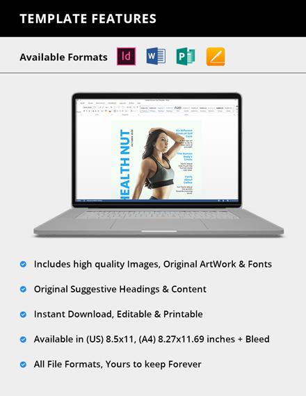 Simple Professional Health Magazine