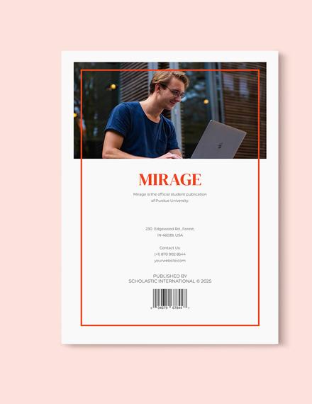 Sample Professional Student Magazine