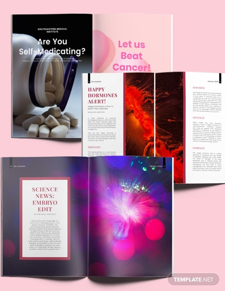 Science Layout Magazine Download