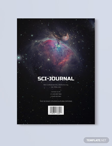 Sample Scientific Journal Magazine