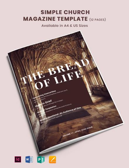 Simple Church Magazine