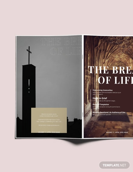 Sample Simple Church Magazine