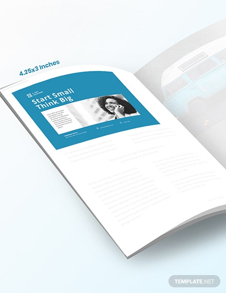 Company Profile Magazine Ads Template [Free PSD] - InDesign