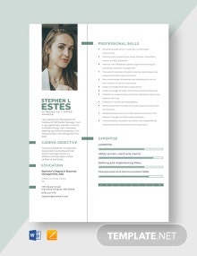 Outbound Call Center Manager Resume Template