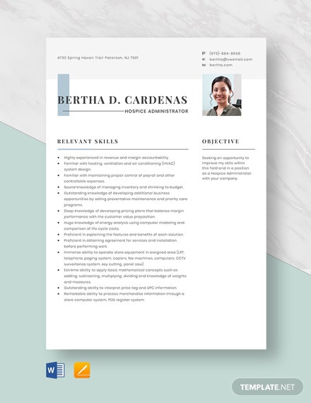 sharepoint administrator resume template