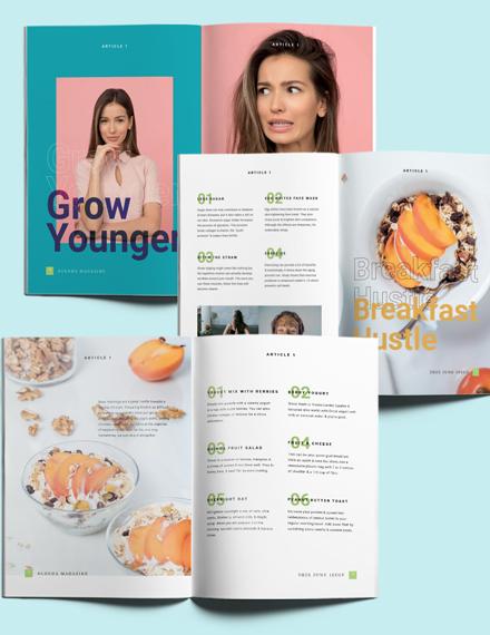 Printable Health Magazine Download