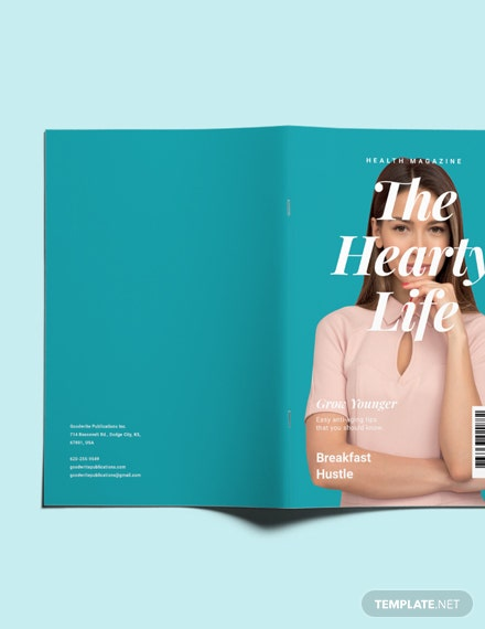 Sample Printable Health Magazine
