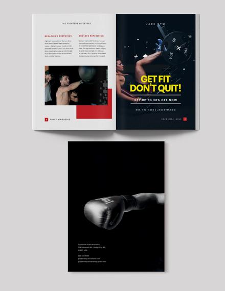 Sample Printable Sports Magazine