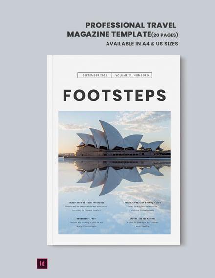 professional travel magazine