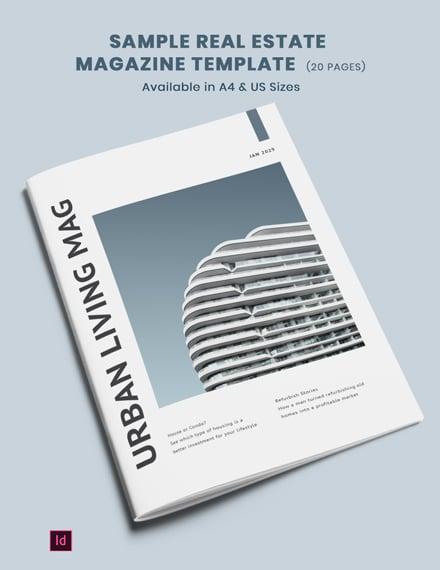 sample realestate magazine