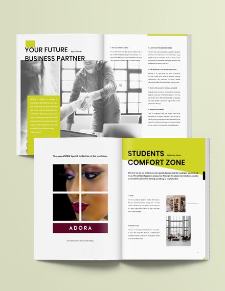 School Layout Magazine Download