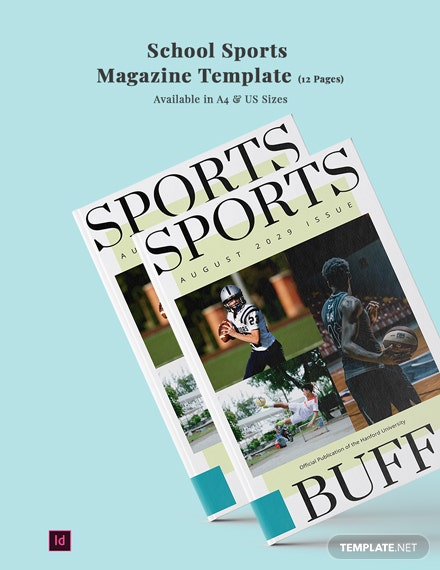 school sports magazine