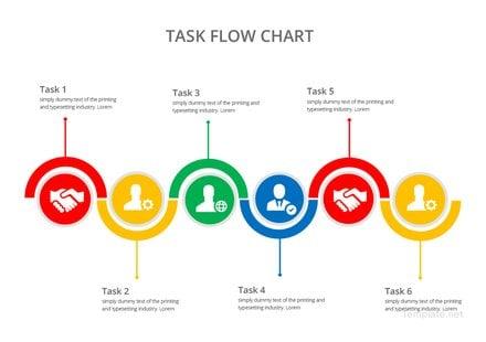 Task Flow Chart Template