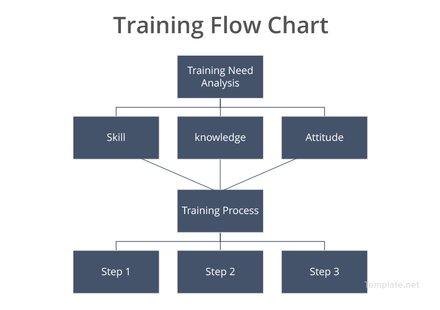 Training Flow Chart Template