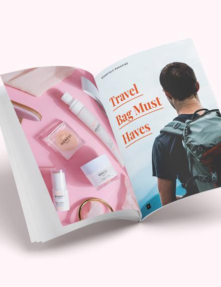 Minimal Product Magazine Download