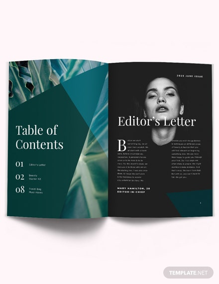 Minimal Product Magazine Template