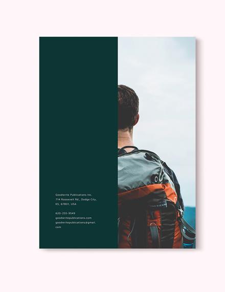 Sample Minimal Product Magazine