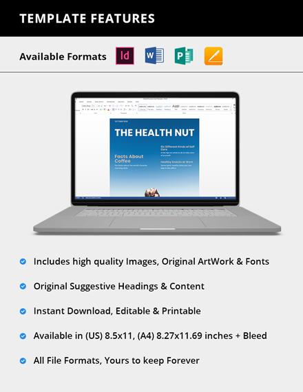Simple Modern Health Magazine