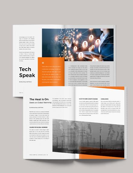Printable School Magazine Download
