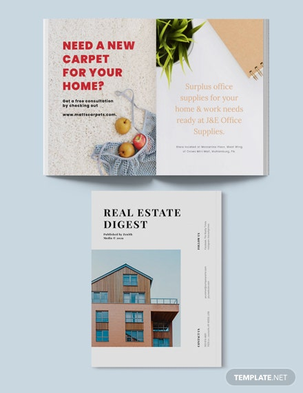 Sample Real Estate Agency Magazine