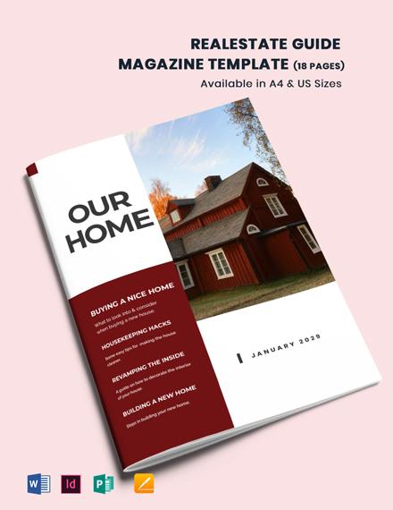 Real Estate Guide Magazine