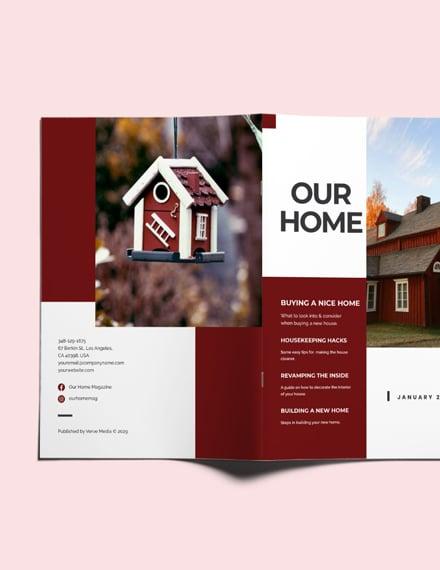 Sample Real Estate Guide Magazine