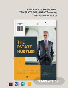 Real Estate Magazine Template For Agents