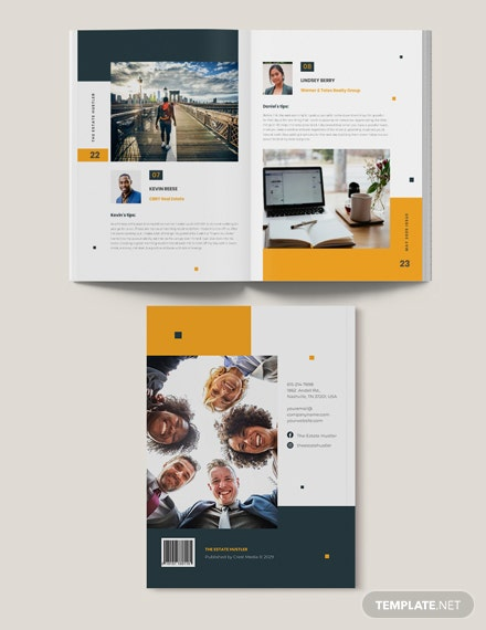 Sample Real Estate Magazine Template For Agents