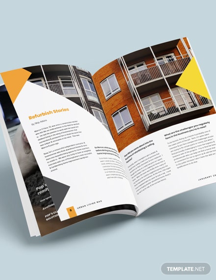 Real Estate Magazine Template For clients Download