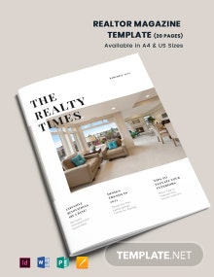 Realtor Magazine Template