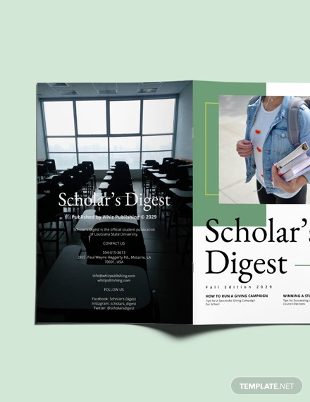 Sample School Campaign Magazine