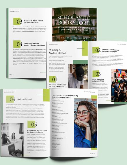 School Campaign Magazine Download