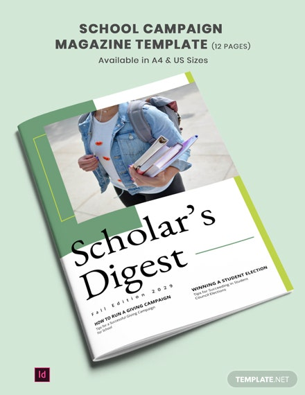 school campaign magazine