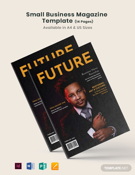 Small Business Magazine Template
