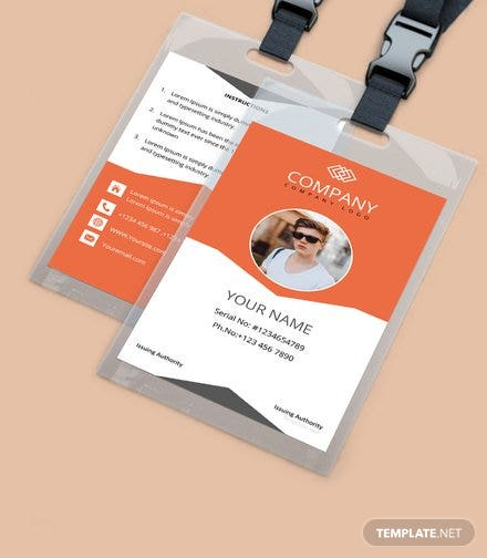 Free Id Card Templates For Business Free Templates