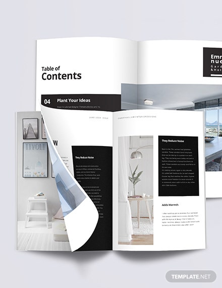Modern Interior Design Magazine Template