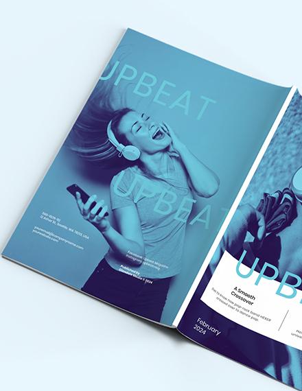 Sample Modern Music Magazine