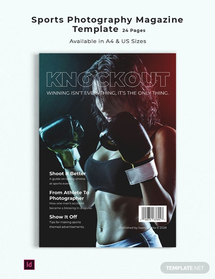 sports photography magazine