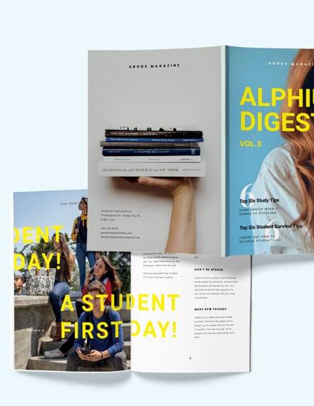 Sample Student Article Magazine