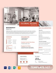 Company Media Kit Template