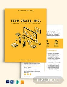 Marketing Media Kit Template