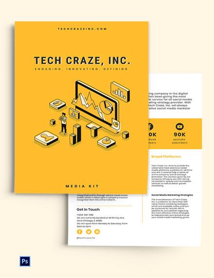 Marketing Media Kit Template