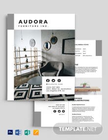 Product Media Kit Template