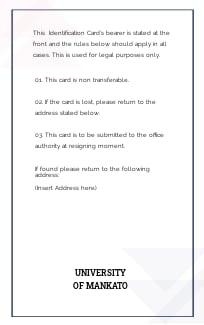 Free Vertical Blank ID Card Template 1.jpe