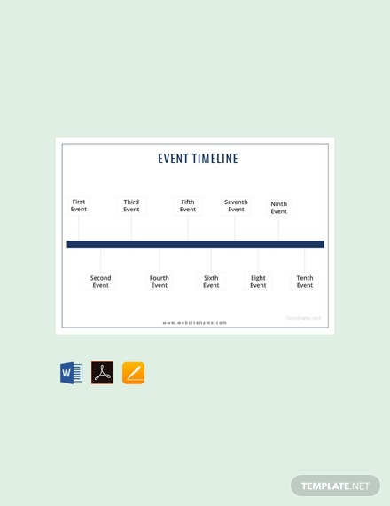 free event timeline template download 113 charts in word pdf